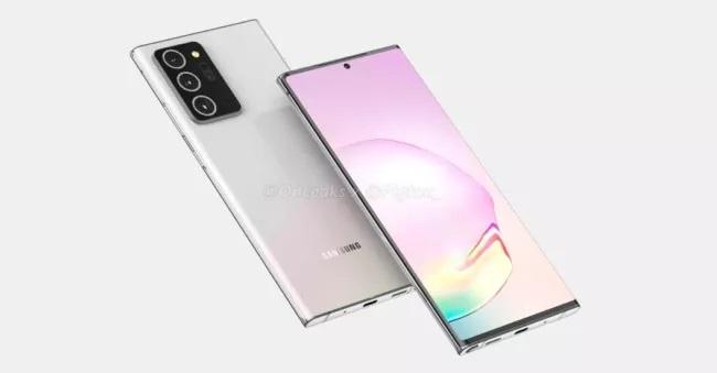 تم الكشف عن Samsung Galaxy Note 20 في فيديو